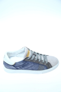 Sneakers Denim Camoscio - CRIME