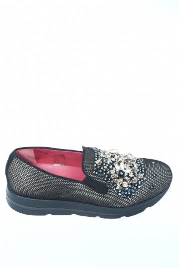 c363e5105aa8d Pantofola Nero oro 181 - Pantofole