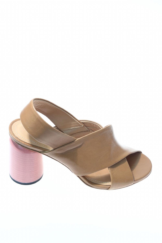 Caramello Cfklj1 Sandalo Cuoio Halmanera Sandali W9EH2DI