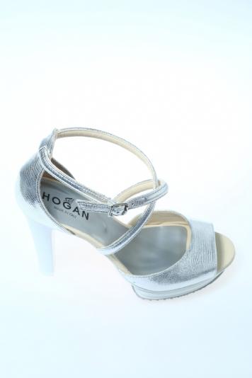 sandali hogan argento