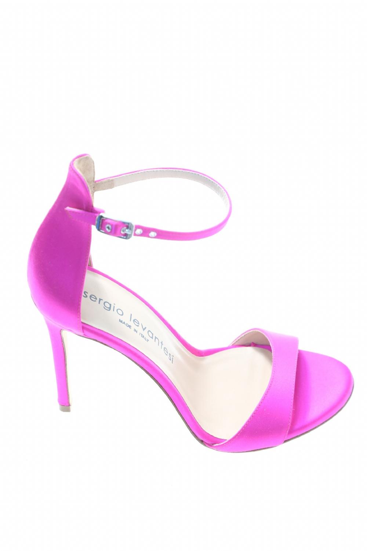 codice promozionale 2e772 999ed Sandalo Fuxia Cuoio SERGIO LEVANTESI - Sandali