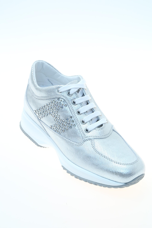 Sneaker Argento Impreziosito HOGAN - Sneakers e922e61cb86