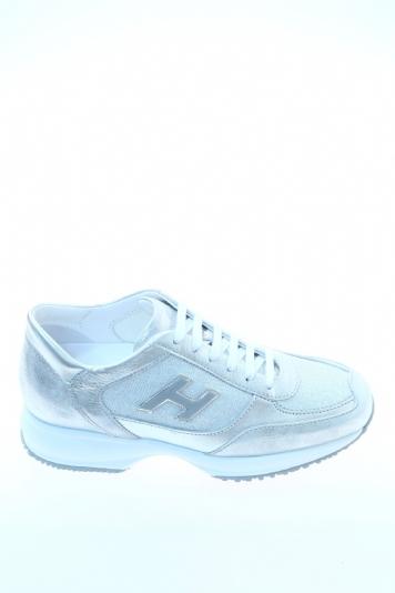 Sneaker Argento Pelle HOGAN Sneakers