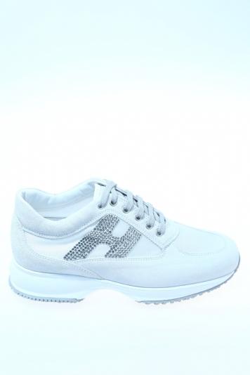 Sneaker Ghiaccio Camoscio HOGAN - Sneakers