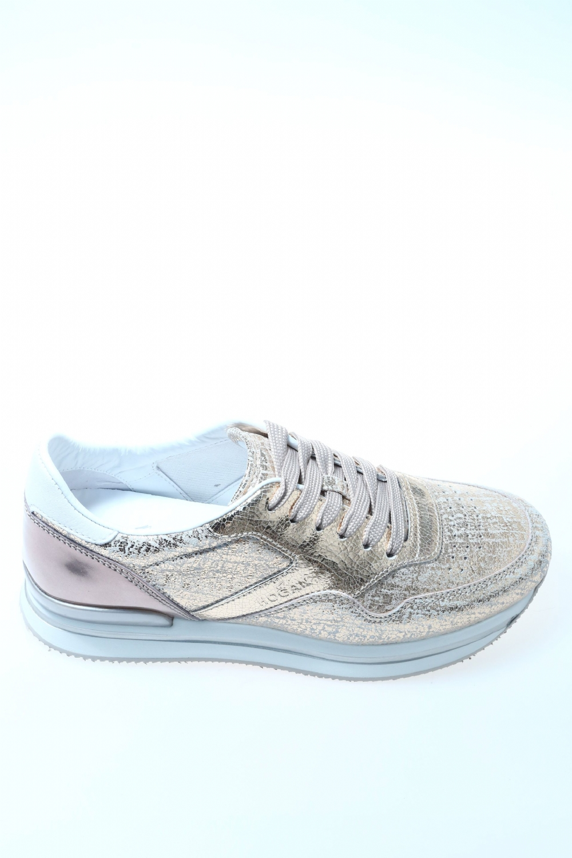 Sneaker ORO ROSA Pelle HOGAN - Sneakers