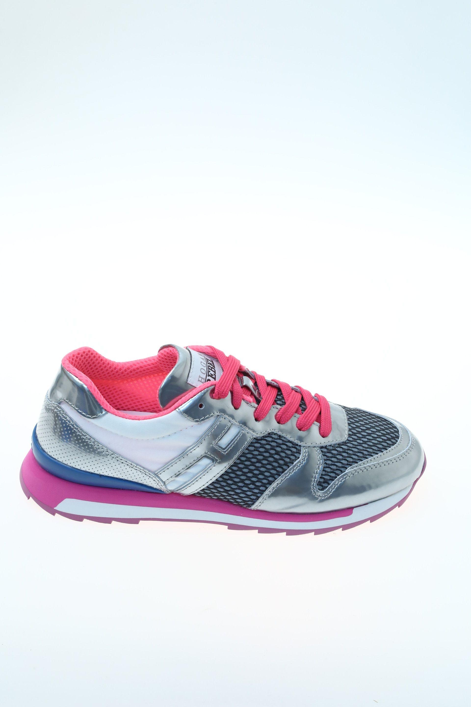 Sneaker Argento Camoscio HOGAN REBEL - Sneakers fa1e7d52381