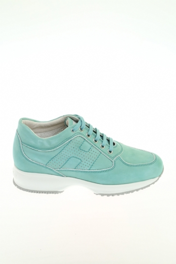Sneaker Verde acqua Vitello HOGAN - Sneakers