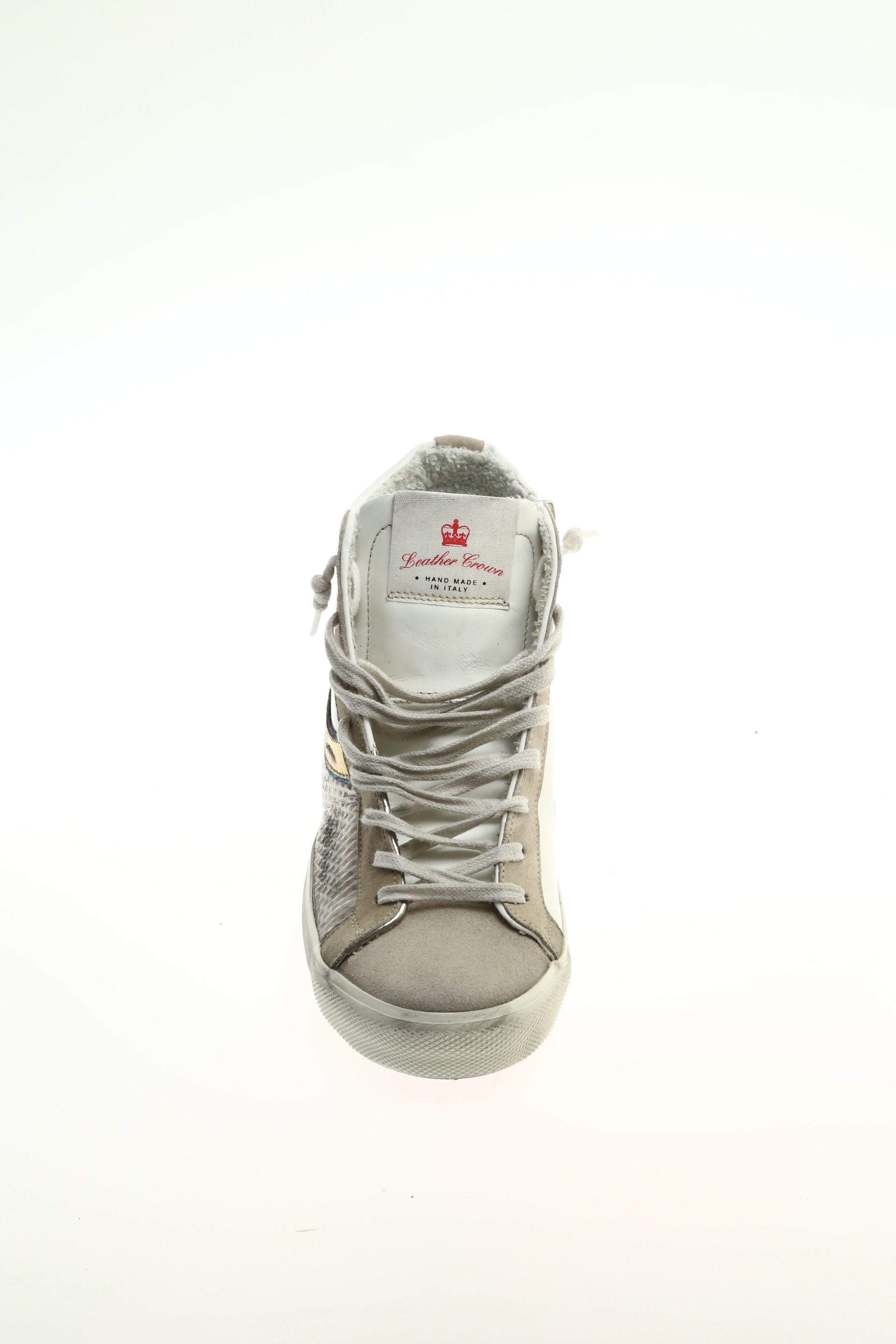 Sneaker Grigio Camoscio LEATHER CROWN - Sneakers daca60e9815