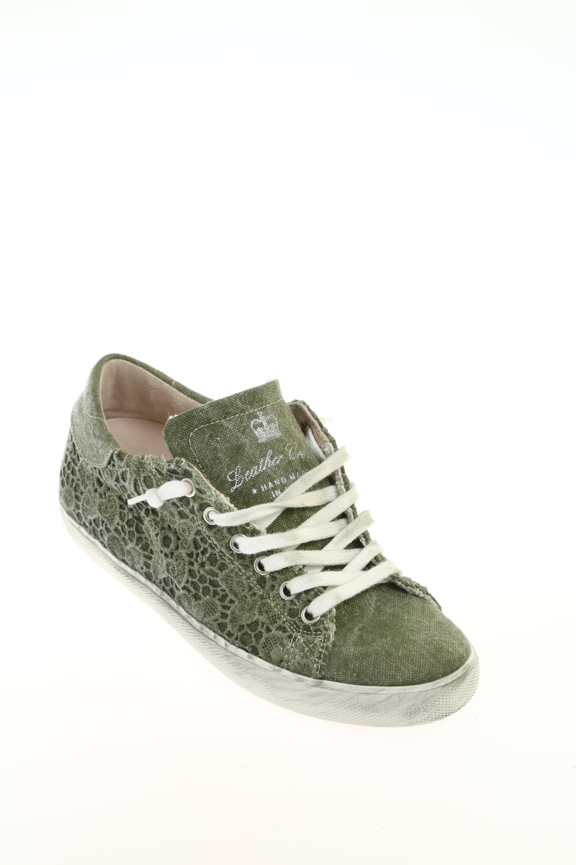 Sneakers Verde Militare · LEATHER CROWN Verde Militare. X CHIUDI 155f1466763