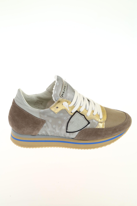 96e71d2675e17 Sneaker Tortora Camoscio PHILIPPE MODEL - Sneakers