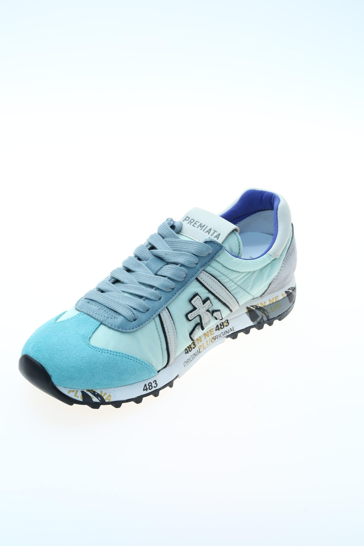 Verde Acqua Gomma Sneakers Premiata Sneaker 6Spdwp