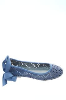 Ballerine Bluette Cuoio - FRU.IT