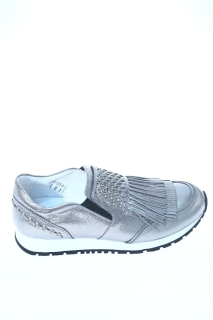 Sneakers Platino Pelle - TOD