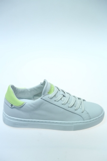 Sneakers Bianco Pelle - CRIME