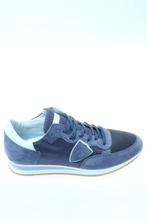Sneakers Jeans Camoscio - PHILIPPE MODEL