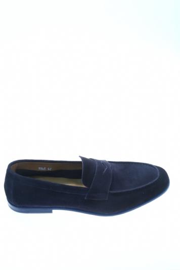 di buona qualità prezzo accessibile scarpe autunnali Mocassino Blu Camoscio DOUCAL'S - Mocassini