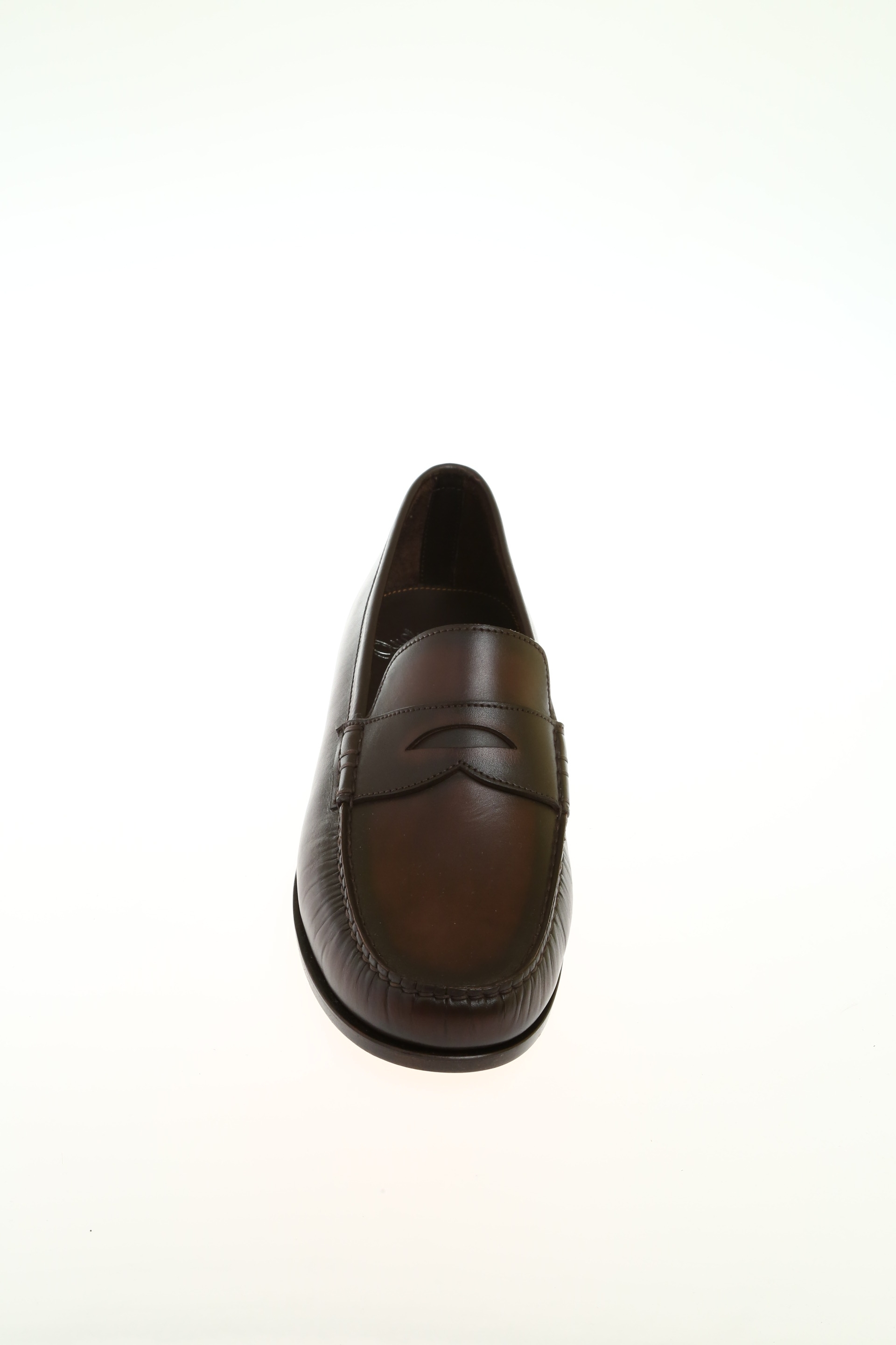 SANTONI Mocassini uomo marrone