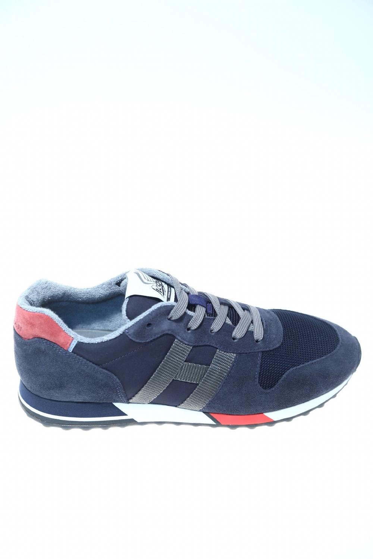 Sneaker Blu Rosso Camoscio HOGAN - Sneakers