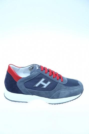 Sneaker Denim Camoscio HOGAN - Sneakers da700e565e8
