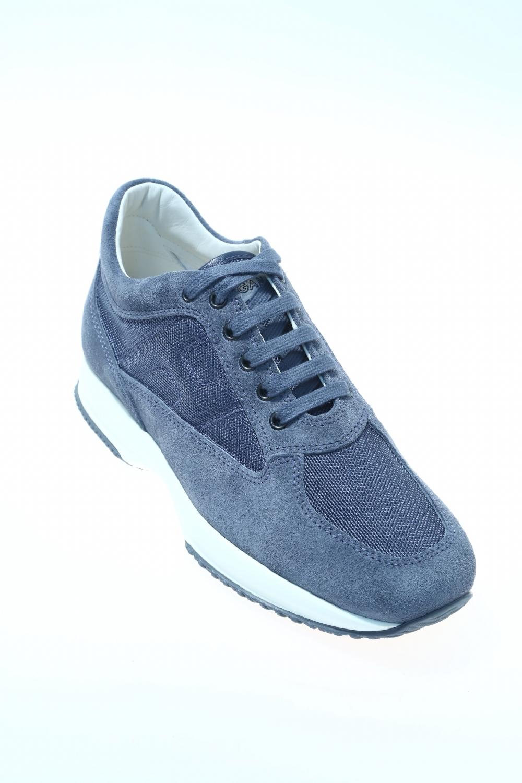 Sneaker Jeans Camoscio HOGAN - Sneakers 58c6c7cad28