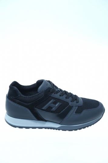 Sneaker Nero Camoscio HOGAN - Sneakers f2c17b0f1eb