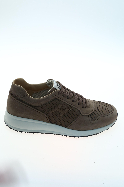 284b40b974048 Sneaker Nocciola Camoscio HOGAN - Sneakers