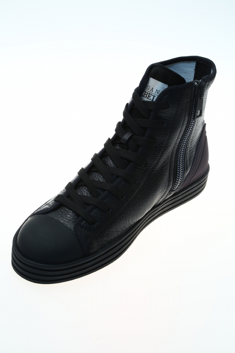 bee306c8c5d81 Sneaker Nero Gomma HOGAN REBEL - Sneakers