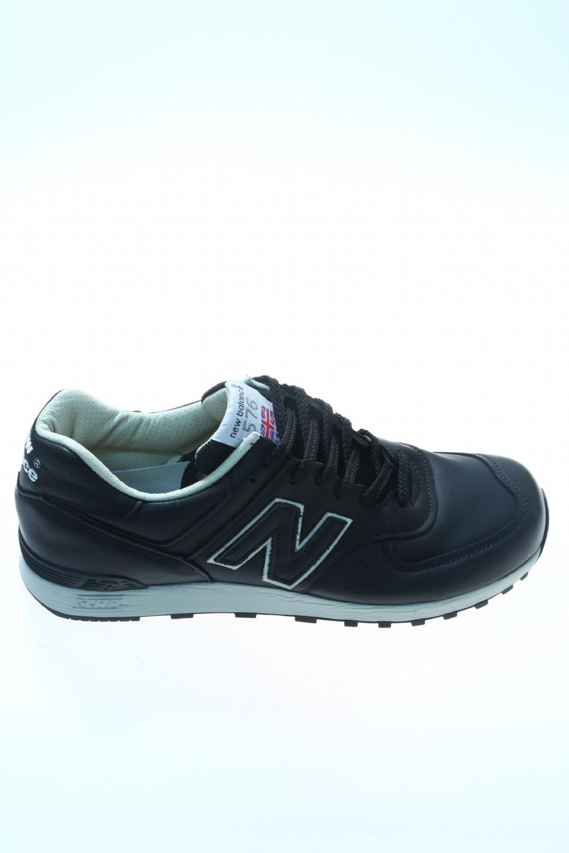 scarpe new balance uomo pelle nera