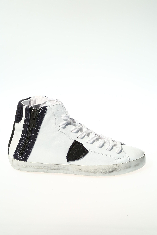 Sneaker Bianco blu Gomma PHILIPPE MODEL - Sneakers b5622dda3ce