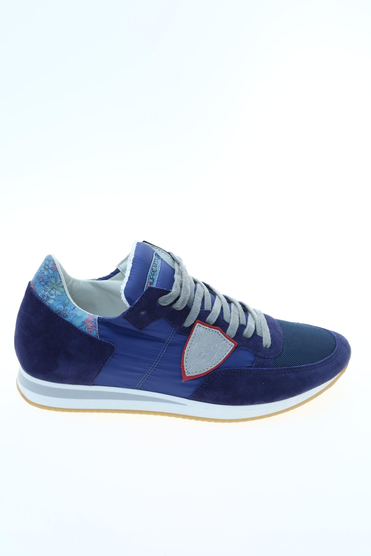 Sneaker Blu Gomma PHILIPPE MODEL - Sneakers 400f3d65742