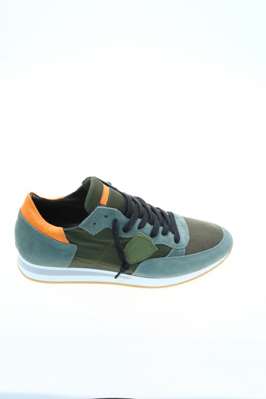 Sneaker Verde Camoscio PHILIPPE MODEL Sneakers
