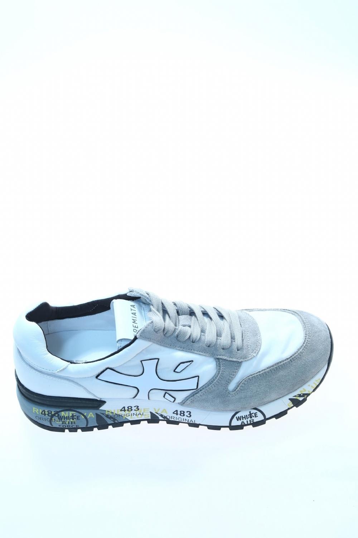 034a8542d0 Sneaker Bianco Camoscio PREMIATA - Sneakers