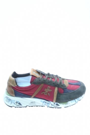 2843881013 Sneaker ROSSO VERDE Pelle PREMIATA - Sneakers