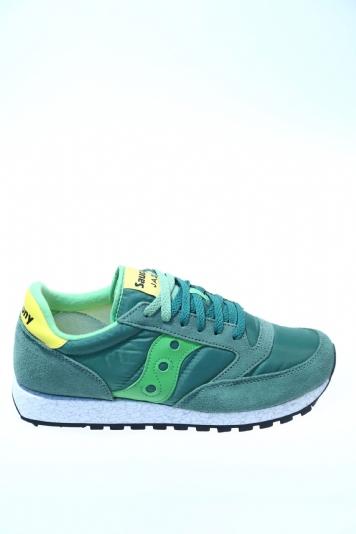 the best attitude bdfa9 23889 Sneaker Verde Camoscio SAUCONY - Sneakers