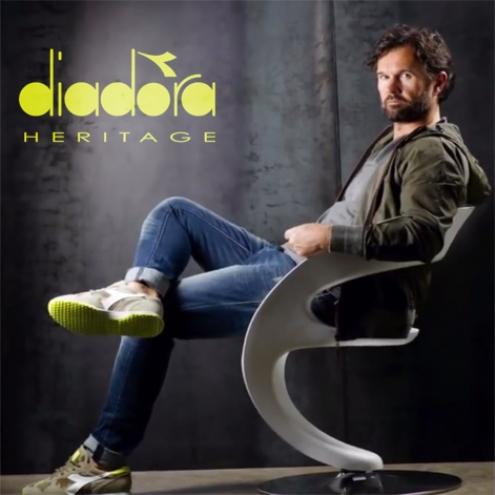 Diadora Heritage  il lusso di poter correre ovunque - Boutique online 02cf7004e90